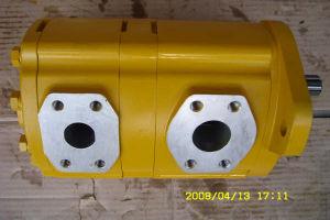 Komatsu Double pompe à engrenage hydraulique (23B-60-11120)