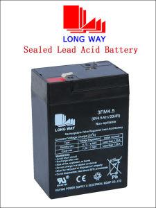 Герметичный аккумулятор Lead-Acid SLA VRLA AGM питания аккумуляторной батареи