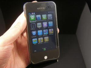Telefono di sfoggio M9 GPS WiFi Java TV con l'apparenza del telefono e della sfera rotante 3GS