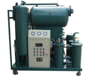 Dos etapas, vacío de alta eficiencia del filtro de aceite de máquina (ZYD)