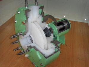 Pompe centrifuge en plastique comme Friatec pompe (MMCP)