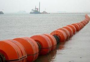 Drijvende Pijpleiding voor de Baggermachine van het Zand