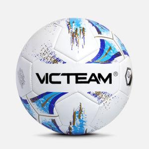 Custom печатных рекламных ПВХ футбольный мяч в основную часть