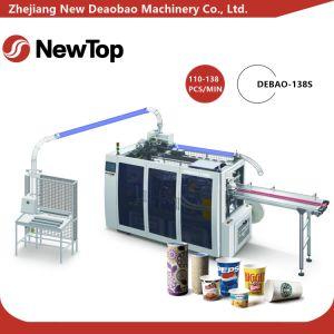 고속과 지적인 종이컵 기계 (DEBAO-138S)