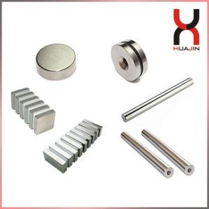 Strong fritté Permanent Rare Earth NdFeB Disc/bloc cylindre/Bar/Tige magnétique à aimant/Filter/grill/anneau/bouton matériel aimant en néodyme