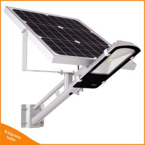 En una sola lámpara solar calle LED de exterior de la pared de luz solar de la seguridad de la calle de la luz de carretera