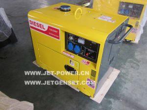 5kw stille Diesel Generator 2 de Generator van de Elektriciteit van de Cilinder 5kVA