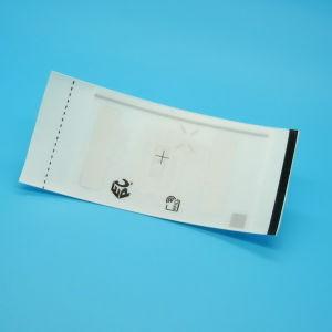 의복 관리 수동적인 ER62 UHF RFID 직물에 의하여 길쌈되는 꼬리표