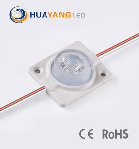 2.4W 160 도 렌즈를 가진 높은 루멘 SMD 3535 LED 주입 모듈