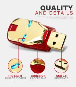 Новая конструкция Iron man памяти USB Flash диск USB