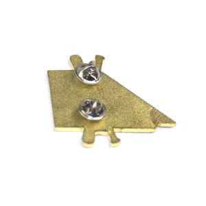 L'abitudine rende a metallo il Pin duro del risvolto del distintivo dello smalto per il commercio all'ingrosso