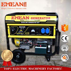 Arranque eléctrico generador de gasolina de 5 kw (6500)