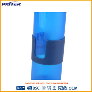 Popular para el mercado directamente de fábrica de plástico de silicona de la botella de agua