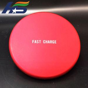 Против скольжения ци беспроводной зарядки панель с телефона в Microsoft Office для дома автомобиль зарядное устройство беспроводной связи