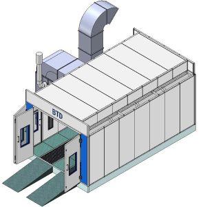 Garage-Geräten-Auto-Spray-Stand mit Cer