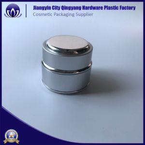 スキンケアのパッキングのための高級な電気分解アルミニウム装飾的なクリーム色の瓶