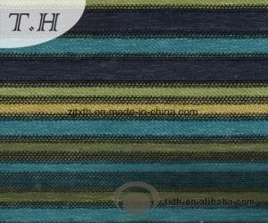 中国の製造者がなす多彩なシュニールの縞のソファーファブリック