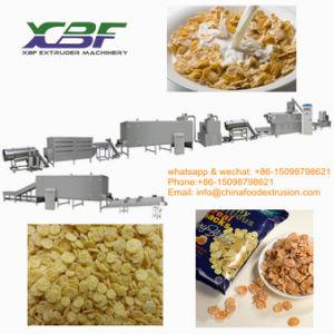 Infla Los cereales de desayuno copos de maíz de la máquina Línea de Procesamiento de la fábrica