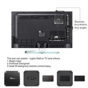 X96 Amlogic S905W를 가진 소형 인조 인간 7.1.2 IPTV 텔레비젼 상자는 1GB RAM+8GB ROM 지능적인 미디어 플레이어를 잘게 썬다