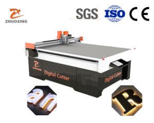 Zx-1318V la cuchilla oscilante Máquina de corte de placa de PVC, Acrílico, Plexiglass