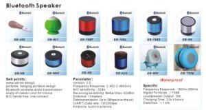 Mayorista inalámbrica de música altavoz Bluetooth resistente al agua para una muestra gratis