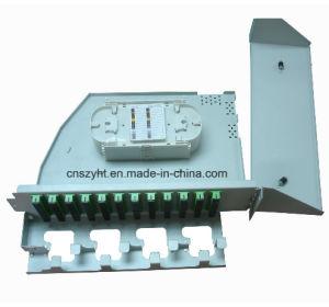 19'', montados en rack 3U de fibra óptica FTTH la caja de bornes