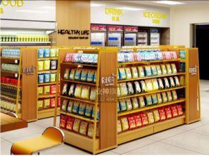 Handelsgondel-integriertes Fach für Convneinece Speicher und Supermarkt