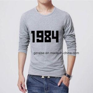 OEM 상표 도매는 인쇄한 t-셔츠를 주문을 받아서 만들었다