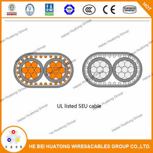 Het Aluminium van de Kabel van de Ingang van de Dienst UL 854/Se van het Type van Draad van de Bouw van het Koper, Stijl R/U Seu 2 2 2
