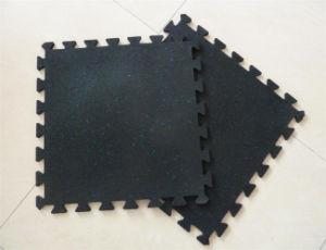 スリップ防止体操のゴム製床のマットかオイル抵抗のゴムマット