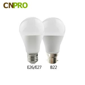 2017 China Proveedor de plástico de la luz de lámpara LED RoHS ce el ahorro de energía de alta potencia de la luz de lámpara LED 5W 7W 9W 12W 15W Bombilla LED SMD2835