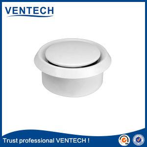 Válvula de disco de plástico do difusor de ar para o sistema do HVAC