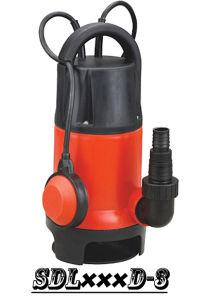 (SDL400D-3)浮遊物スイッチが付いているプラスチック浸水許容の汚れた水ポンプ