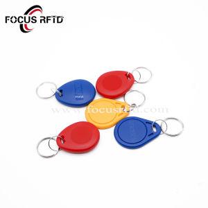 안전과 보호를 위한 125kHz와 13.56MHz RFID 중요한 Fob 꼬리표