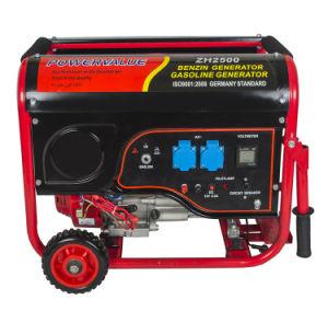 2kw小さい携帯用ガソリン発電機のBenzinの発電機