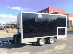Neuseeland-schwarze Standardfarben-mobiler Nahrungsmittelschlußteil 2018 mit Wof