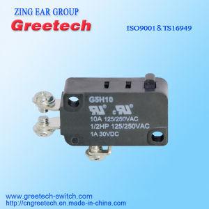 De elektro Micro- die Schakelaar van het Contact in het Toestel van het Huis wordt gebruikt