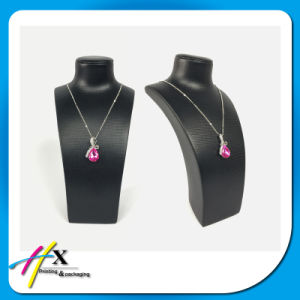 Elegante collar de exposicion de la demostracion del arte busto Jewelry Display