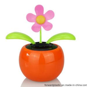 BSCI, WCA, Sqp, Wal-Mart Fábrica Certificado, Eco-Friendly Bobblehead Dança Solar flores em vasos coloridos. Dom de decoração.