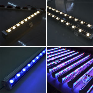 DMX512 van de LEIDENE van de controle LEIDENE 80W RGB Wasmachine van de Muur Lineaire Licht van de Projector