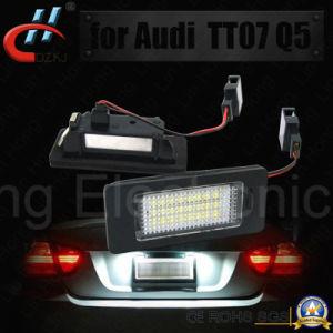 2X24LED SMD lúmenes altos Canbus coche / Auto de placa de matrícula (Audi TT07)