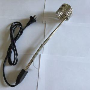 Bobina eléctrica caliente rápido pequeño calentador de agua de inmersión
