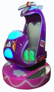 Combater o Jet Carousel Kiddie Carona Cartoon Vídeo com equipamento de centro de jogos de música