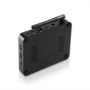 Rk3229 쿼드 코어 2g+16g를 가진 아랍 IPTV 고정되는 최고 상자에 있는 인조 인간 4K 텔레비젼 상자