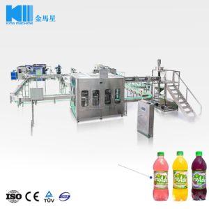 De automatische Was die van het Vruchtesap en het Afdekken Machine vullen