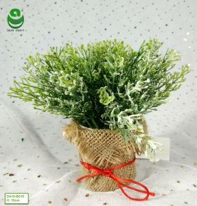 piante verdi dei bonsai artificiali del PE di 0.15m per le serie 5-8 della decorazione