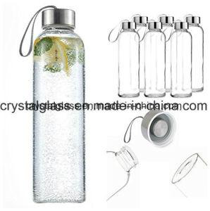 2018 heiße bewegliche Wasser-Glasflaschen des Verkaufs-OEM/ODM