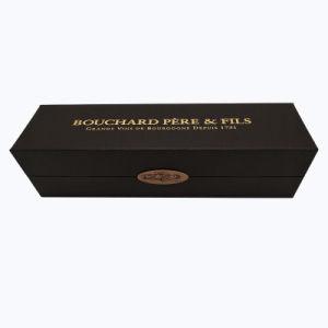 De lujo en piel sintética de alta calidad caja de vino de embalaje de papel