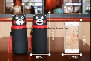 Kumamoto trägt kreative Wasser-Glasflaschen-Heat-Proof Glaswaren 430ml