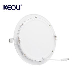 ISO-Fabrik-Tageslicht-kühles weißes warmes rundes weißes Panel LED helles 18W